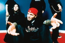 Fred Durst has struck out at Big Day Out organisers during a Limp Bizkit show in Australia. Photo / Supplied