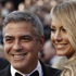 George Clooney and Stacy Keibler arrive on the red carpet at the 84th Academy Awards in Los Angeles. Photo / AP