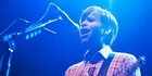 Ben Gibbard performs with Death Cab For Cutie at the Wellington Town Hall. Photo / Amy Schulz