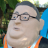 Gerry Brownlee as a gnome. Photo / Supplied