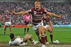 The last time Manly and the Warriors met was on the biggest stage - the grand final. Photo / Getty Images