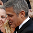 George Clooney arrives on the red carpet at the 84th Academy Awards in Los Angeles. Photo / AP
