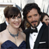Bret McKenzie and wife Hannah arrive before the 84th Academy Awards. Photo / AP