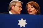 Julia Gillard wins the Labor leadership ballot 71-31 over Kevin Rudd.