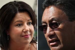 Social Development Minister Paula Bennett, left, and Hone Harawira. Photos / NZ Herald