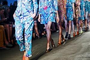 Models wear creations by Karen Walker. Photo / Supplied
