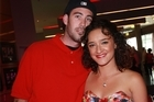 Keisha Castle-Hughes and Michael Graves rented the property in Mt Eden, but left without repairing the damage their landlord says they blamed on their sub-tenants. Photo /  Norrie Montgomery