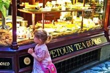 Kids love the goodies at the Hopetoun Tea Rooms. Photo / Danielle Wright