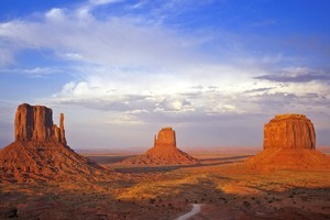 Arizona's distinctive Monument Valley has been the backdrop for numerous John Wayne movies. Photo / Thinkstock