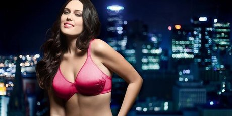 Penelope Benson is the face of Playtex underwear. Photo / Supplied