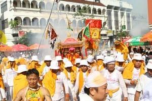 The Vegetarian Festival, Phuket, Thailand. Photo / Supplied