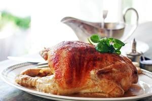 Roast chicken. Photo / Doug Sherring