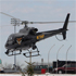 An Ohio State Highway patrol helicopter leaves Chardon High School. Photo / AP