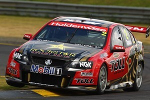 Garth Tander has his eye on the prize in Adelaide this weekend. Photo / Getty Images