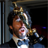 Bret McKenzie with the Oscar for best original song. Photo / AP