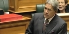 Watch: Winston Peters ejected from Parliament