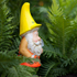 A gnome in the Christchurch Botanic Gardens installation. Photo / Daniel Thomson