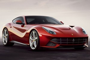 Ferrari has previewed its 2013 F12 Berlinetta ahead of its launch at the Geneva Motor Show. Photo / Supplied