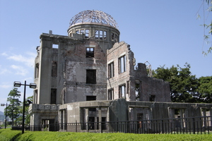 The Hiroshima Peace Memorial (Genbaku Dome) was the only structure left standing in the area where the first atomic bomb exploded in August 1945. Photo / Thinkstock