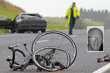 David Armstrong was knocked from his bike and killed. Photo / APN