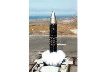 The MX intercontinental ballistic missile became the most powerful missile in America's nuclear arsenal.