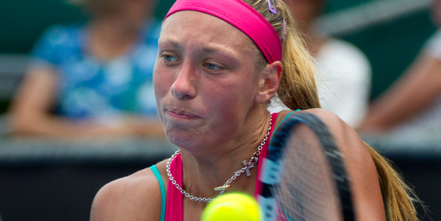 Yanina Wickmayer. Photo / Brett Phibbs