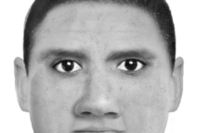 Police released a computer sketch giving a likeness of the offender who attacked a 62-year-old woman at the Victory Community Gardens in Nelson on New Year's Day. Photo / Supplied