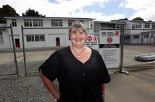 Principal Sandra Aitken will open the year with six new classrooms. Photo / Doug Sherring