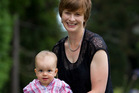 Emma Buckingham returned to the workforce when 13-month-old Molly was 5 months old. Photo / Greg Bowker