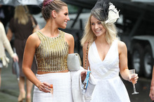 Racing these days is as much about fashion as fillies. Photo / Getty Images