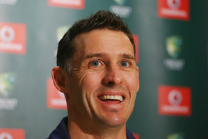 "Teammates regard Mike Hussey, who has earned himself the nickname Mr Cricket, as ""the ultimate pro"". Photo / Getty Images"