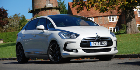 The DS5 hybrid possesses many smart features. Photo / Jacqui Madelin