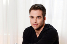 Chris Pine. Photo / AP