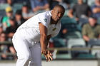 Philander showed no signs of discomfort as he ripped all five wickets out at a personal cost of just four runs in his first 25 balls. Photo / AP