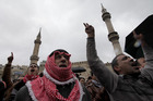 Chanting Jordanian protesters demand political reforms and an end to corruption in the kingdom. Photo / AP