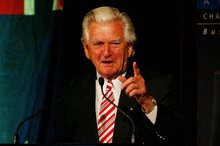 Bob Hawke. Photo / NZ Herald
