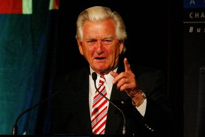 Bob Hawke. Photo / NZ Herald