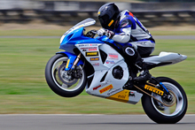 Dennis Charlett plans to add the domestic superbike championship to his growing collection of trophies. Photo / Andy McGechan 