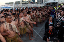 Maori involvement in the 2011 Rugby World Cup, with its TV audience of hundreds of millions, was a highlight for the former ministry chief. Photo / Sarah Ivey