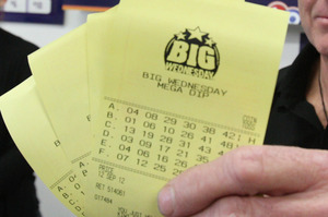 The $15m Big Wednesday jackpot was won last night. Photo / File