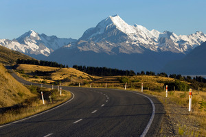 Two climbers received injuries after falling at Aoraki/Mt Cook. Photo / Simon Baker