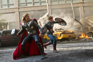 The success of blockbusters like The Avengers saw a record amount spent at the US box office this year. Photo / supplied