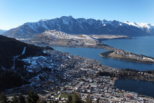 Queenstown has been judged the most popular domestic holiday spot for New Zealanders. Photo / Doug Sherring