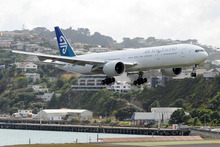 Air NZ has said it is making good progress to doubling its underlying earnings this year to $180 million and Luxon said the first six months of this financial year had been 'hectic'. Photo / NZPA
