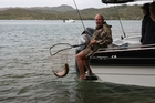 Today's seminar at Tarawera will cover all aspects of boat fishing on the lake. Photo / Supplied