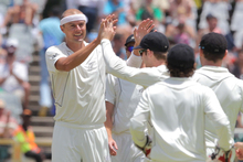 Chris Martin took 3-63 in South Africa's first innings. Photo / Getty Images
