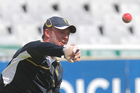  AB de Villiers trains ahead of the first test at Newlands. Photo / Getty Images
