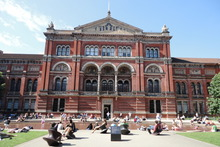 The John Madejski garden of the Victoria and Albert Museum. Photo / Supplied
