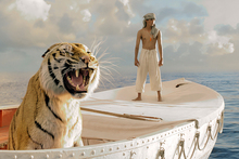 Suraj Sharma in Life of Pi. Photo/AP