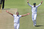  Vernon Philander ripped through the New Zealand top order. Photo / Getty Images